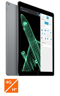 Apple iPad Pro WiFi+Cel Gris 128Go