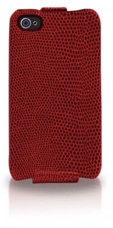 Etui Snowclip Serpent Rouge iPhone 4