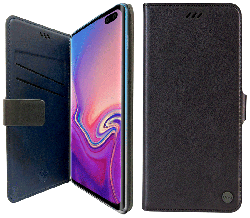 Etui folio Uniq JOURNA Galaxy S10 Plus noir
