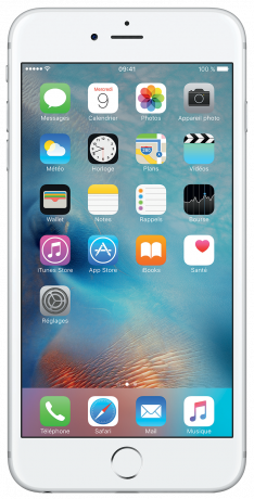 Apple iPhone 6s Plus Argent 32 Go