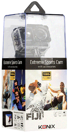 Caméra sports Konix Fiji full HD