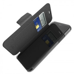 Etui folio Engage iPhone 11 noir