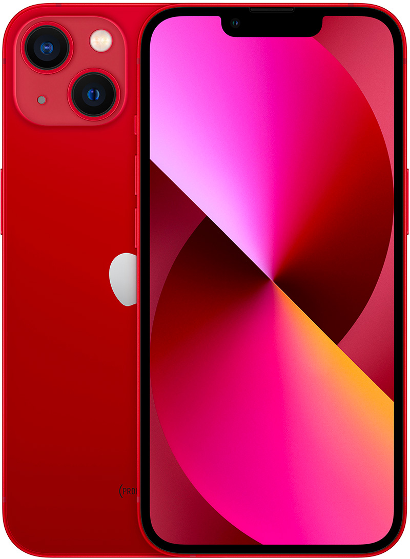 Apple iPhone 13 (PRODUCT)RED 128Go
