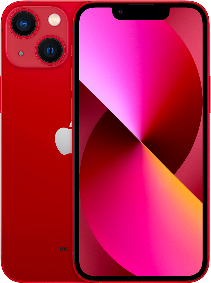 Apple iPhone 13 mini (PRODUCT)RED 128Go