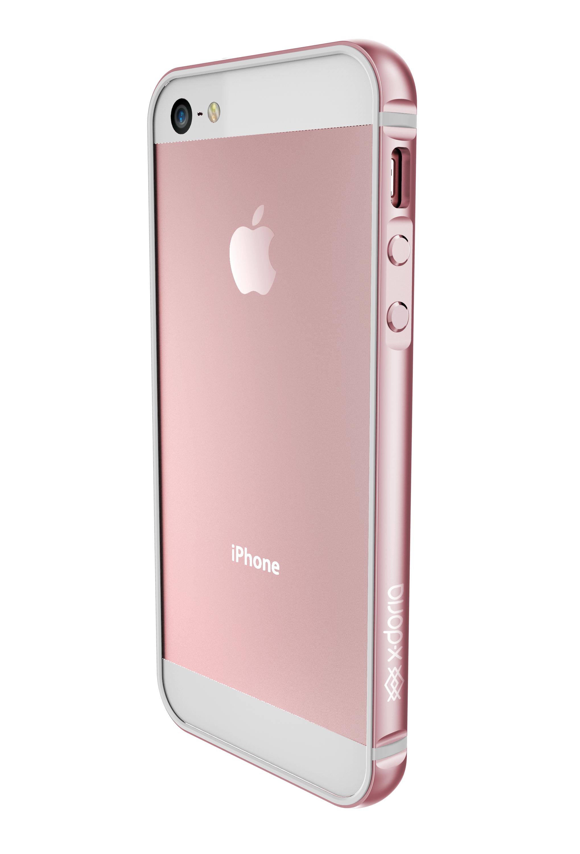 Coque XDORIA Bumper Rose iPhone SE