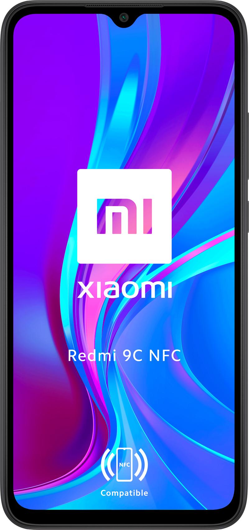 Xiaomi Redmi 9C NFC noir 32Go
