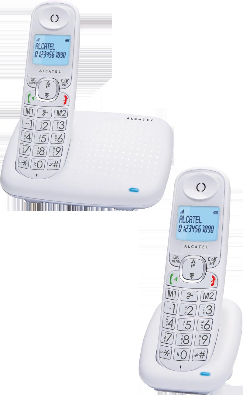 Téléphone fixe Alcatel Versatis XL375 duo