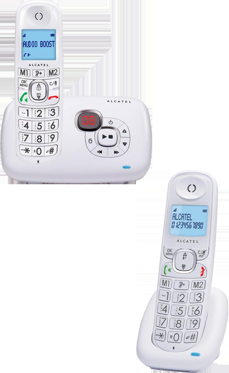 Téléphone fixe Alcatel XL375 V duo répondeur