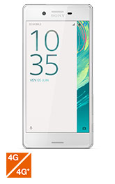 Sony Xperia X blanc 32Go