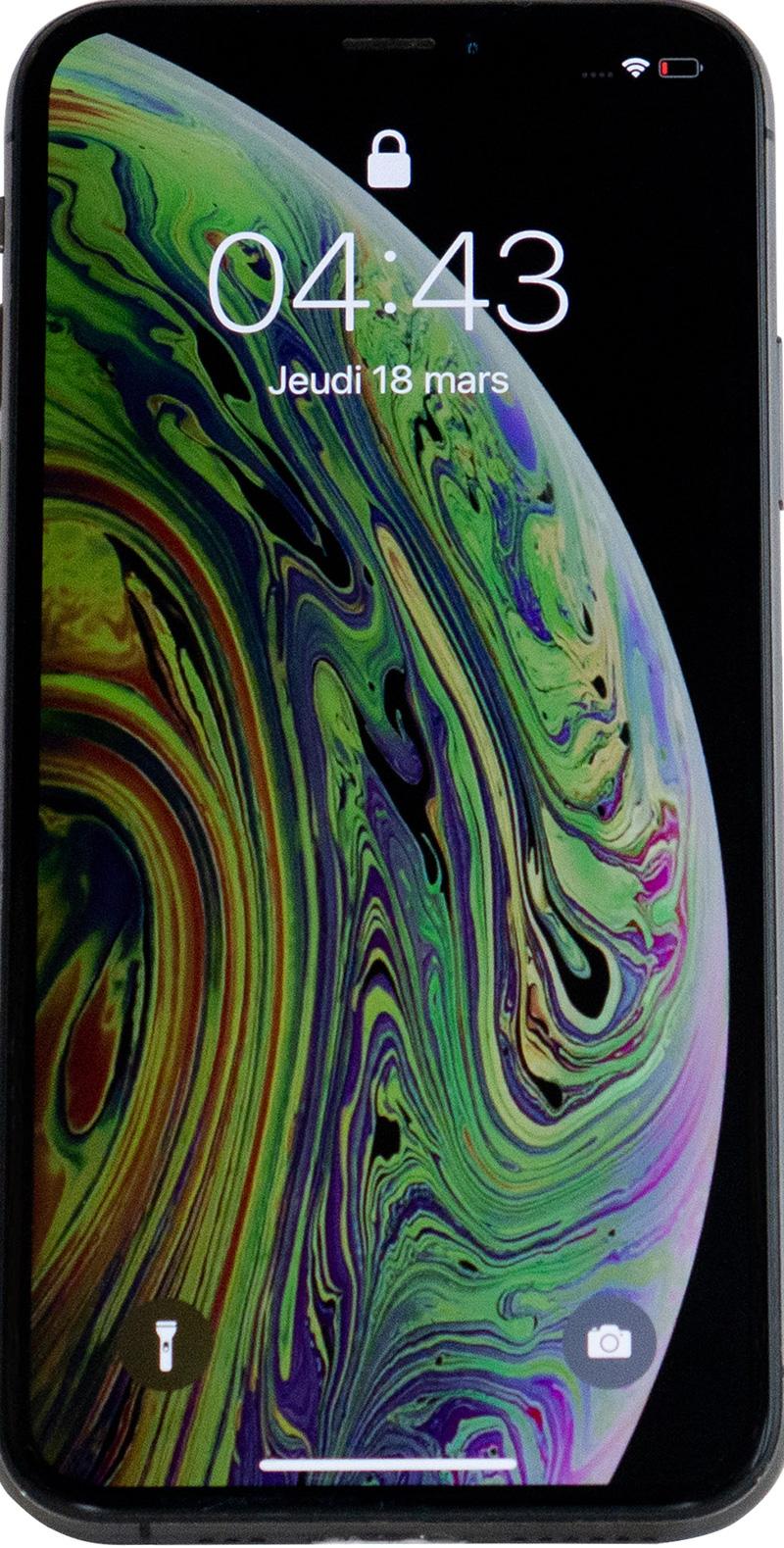 iPhone  XS  reconditionné grade A gris 256Go