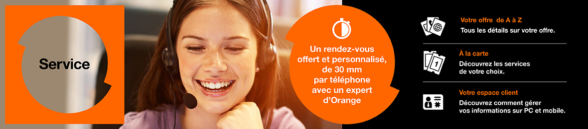 Rendez vous Orange Expert