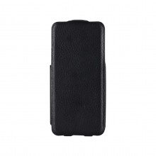 Etui cuir rabat slim noir iPhone 5