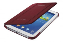 Etui Book Cover Samsung rouge pour Galaxy Tab3 7