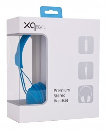Casque XQisit XQ Color bleu