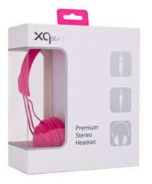 Casque XQisit XQ Color rose