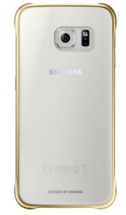 Coque Transparente Samsung Galaxy S6 Gold