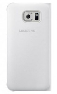 Etui S View Cover Galaxy S6 blanc