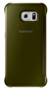 Clear View Cover Samsung Galaxy S6 Or
